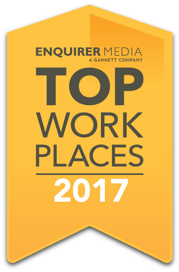 Enquirer Media, a Gannett Company, Top Work Places 2017